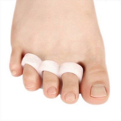 Jern Silicone Hammer Three Hole Metatarsal Protector Each Outer Overlapping Correction Straightener Feet Care