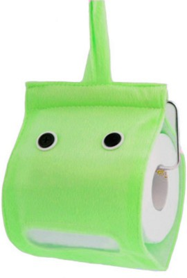 Mosquick Toilet Paper Holder Green Microfibre Toilet Paper Holder