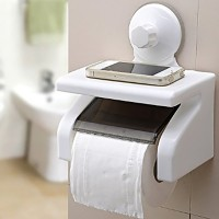 Inventure Retail Toilet paper holder Plastic Toilet Paper Holder