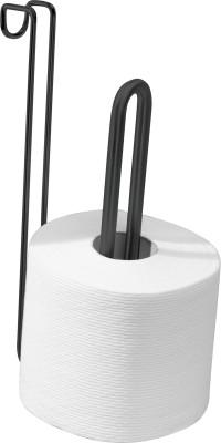 InterDesign InterDesign Forma Over Tank Roll Reserve 2- Matte Black Steel Toilet Paper Holder