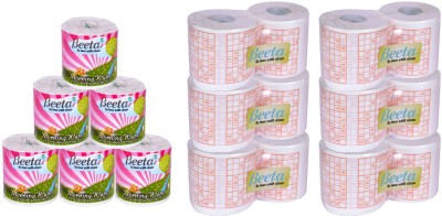 Beeta WYPESPR6TL100M6 12 Toilet Paper Roll