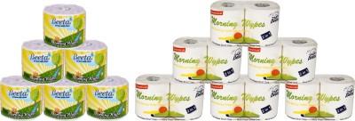 Beeta WYPESPL6&Toilet95gms6 12 Toilet Paper Roll