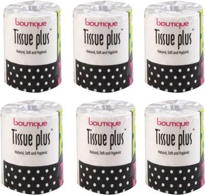 boutique BTQTPTR450Pulls 6 Toilet Paper Roll