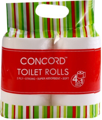 CONCORD CCTR350Pulls4in1 4 Toilet Paper Roll
