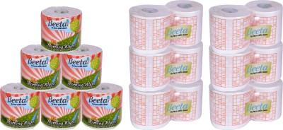 Beeta WYPESPR6TL88M 12 Toilet Paper Roll