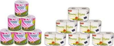 Beeta WYPESPL6TL100M6 12 Toilet Paper Roll