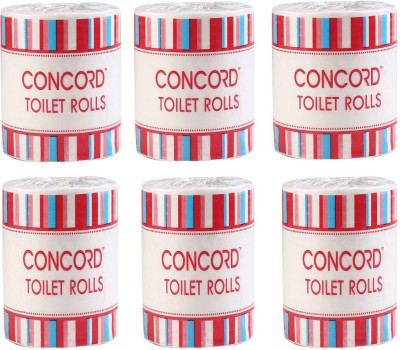 CONCORD CCTR400Pulls 6 Toilet Paper Roll