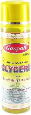 Ganpati Herbal Glycerin with Rose Water & Lime Juice 100 ml
