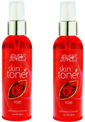Jovees Rose Skin Toner Pack of 2(100 ml)