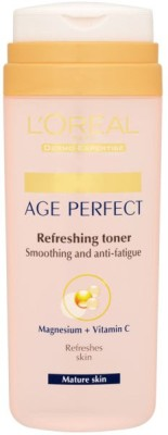 L ,Oreal Paris Dermo-Expertise Age Perfect Refreshing Toner for Mature Skin