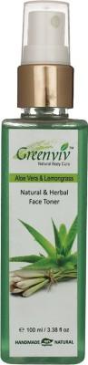 Greenviv Natural & Herbal Toner - Aloevera & Lemongrass