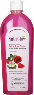 NutriGlow Fresh Rose Toner