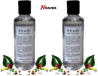 Nanson Khadi Pure Natural Rose Water 420 ml