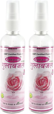 Ganpati Herbal Rose Water Spray Set of 2