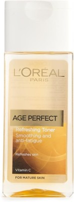 L,Oreal Paris Age Perfect Refreshing Toner Smoothing and anti fatigue