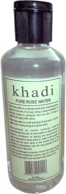 Khadi Herbal Pure Rose water(210 ml)