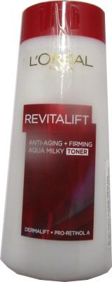 L ,Oreal Paris Revitalift Anti-aging Firming Aqua Milky Toner