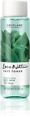 Oriflame Sweden Love Nature Face Toner Tea Tree