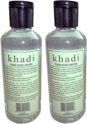 Khadi Herbal Pure Rose water -Twin pack(420 ml)
