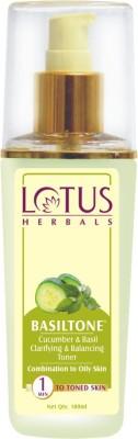 Lotus Basiltone Cucumber & Basil Clarifying & Balancing Toner(100 ml)