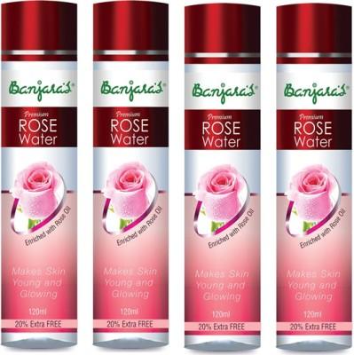Banjaras Rose Water Set Of 4