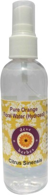 Deve Herbes Natural Orange Floral Water (Hydrosol) 100ml - Citrus Sinensis