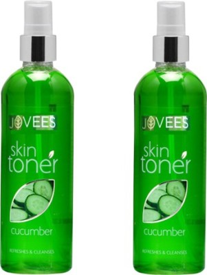 Jovees Cucumber Skin Toner Pack of 2(100 ml)