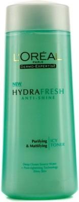 L,Oreal Paris Hydra Fresh Anti-Shine Purifying & Refining Toner