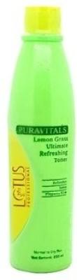 Lotus Professional Puravitals Lemon Grass Ultimate Refreshing Toner