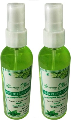 Glowing Buzz Pack of 2 Herbal Skin Refreshner
