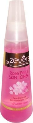 zever rose petal skin toner