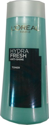 L,Oreal Paris Hydra Fresh Anti Shine Purifying & Refining Toner