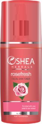 Oshea Herbals ROSEFRESH - Rose Petal and Tulsi Facial Skin Toner 120 ML (All skin types)