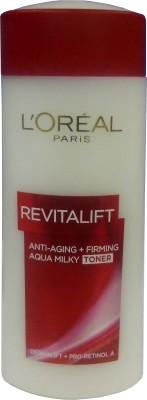 L ,Oreal Paris Revitalift Aqua Milky Toner