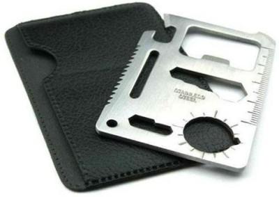 CoolTrends 11 in 1 Multi Tool Card (Set of 2 pc) Camping & Hiking Repair Kit