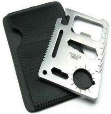 Gade 11 in 1 Multi Tool Card (Set of 2 pc) Camping & Hiking Repair Kit