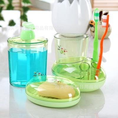 HOMMATE Plastic Toothbrush Holder