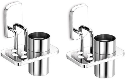 dazzle Arma Stainless Steel Toothbrush Holder