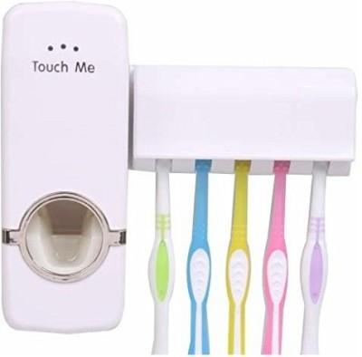 ARNAVS Plastic Toothbrush Holder(Wall Mount)