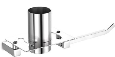 dazzle with Napkin Stainless Steel Toothbrush Holder(Steel, Wall Mount)