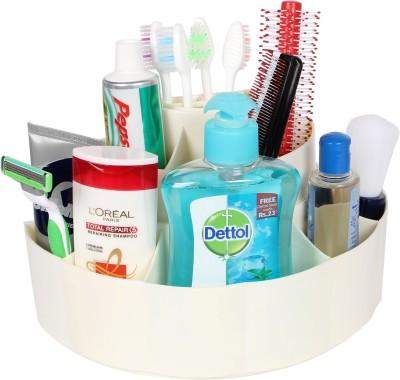 Cipla Plast Plast Bathroom Cosmetics Holder Stand Plastic Toothbrush Holder(Wall Mount)