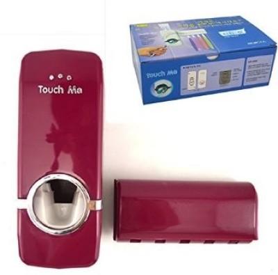Swarish Automatic Toothpaste Dispenser Plastic Toothbrush Holder