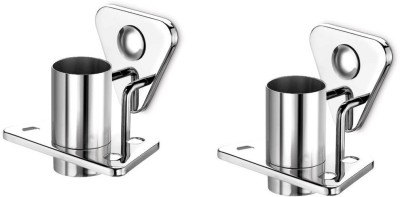 dazzle Coral Stainless Steel Toothbrush Holder(Steel, Wall Mount)