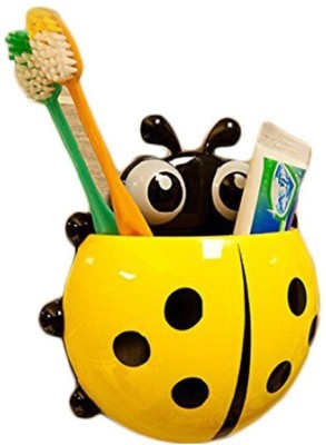 Shopo Powerful Suction Insect Toothpaste Plastic Toothbrush Holder