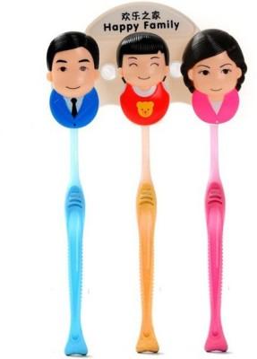 Gade family Plastic Toothbrush Holder