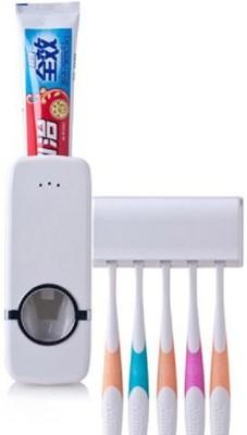 Benison India Plastic Toothbrush Holder(Wall Mount)