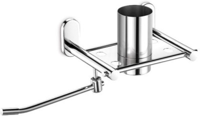 dazzle with Napkin Stainless Steel Toothbrush Holder