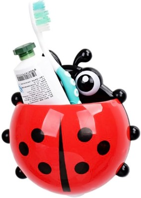 Gade Powerful Suction Insect Plastic Toothbrush Holder