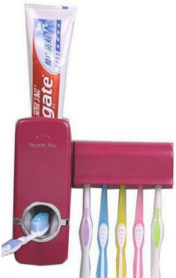 Ruby Plastic Toothbrush Holder