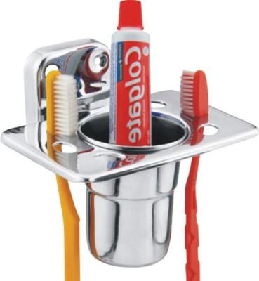 Turnip Tumbler Stainless Steel Toothbrush Holder(Steel, Wall Mount)